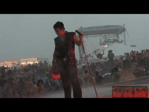 Trixter  Give It To Me Good & Paradise City Rocklahoma 2008 Stage Collapse