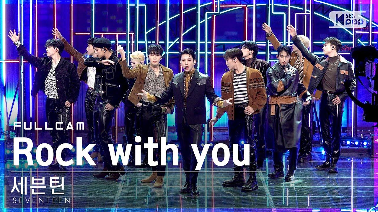 Download [안방1열 직캠4K] 세븐틴 'Rock with you' 풀캠 (SEVENTEEN Full Cam)│@SBS Inkigayo_2021.10.24.