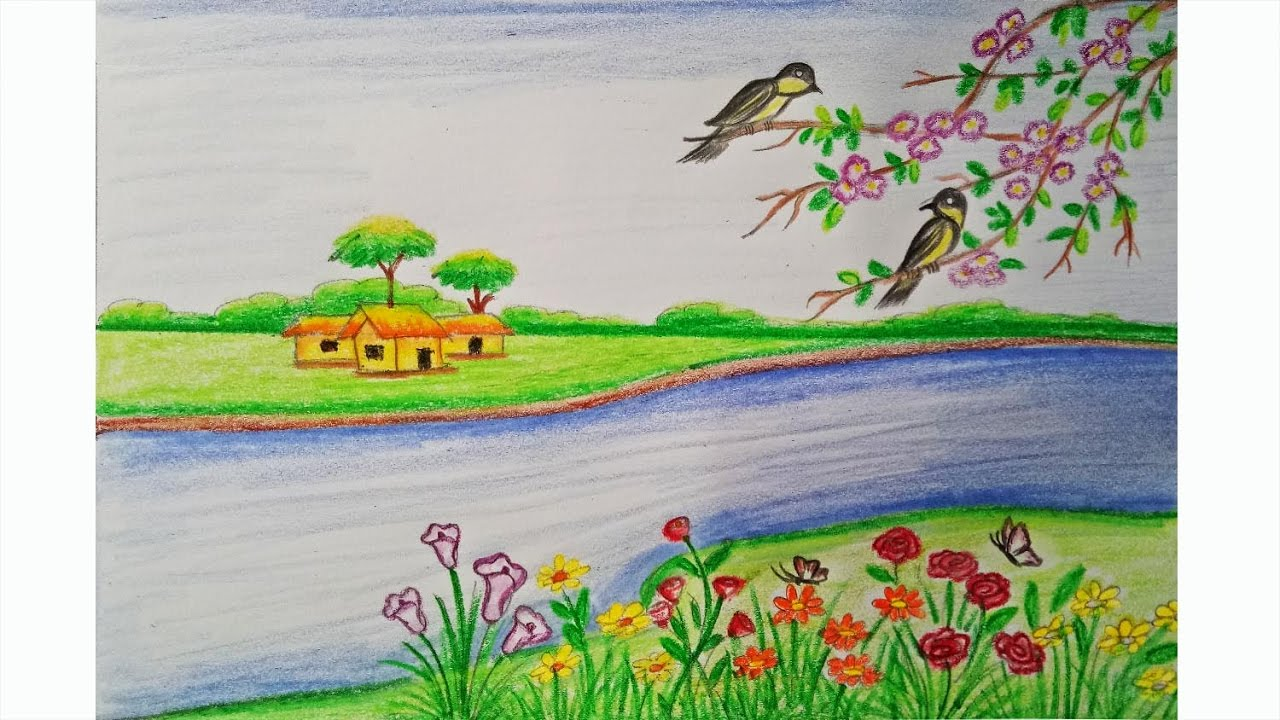 Spring season drawings