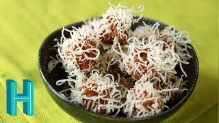 Satan's Hairy (Meat) Balls! Halloween Recipe 🎃 Hilah Cooking