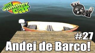 My Summer Car - Rolê de barco, Trabalhando de limpa Fossa #27 (G27 mod)