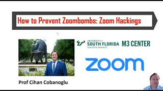How to prevent zoombombings Zoom Hackers