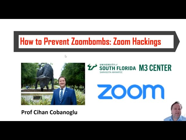 How to prevent zoombombs: Zoom Hackings