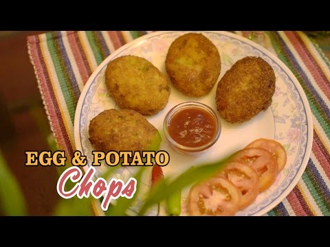 Aloo Chop   Egg and Potato Chop   Nepali Food Recipe