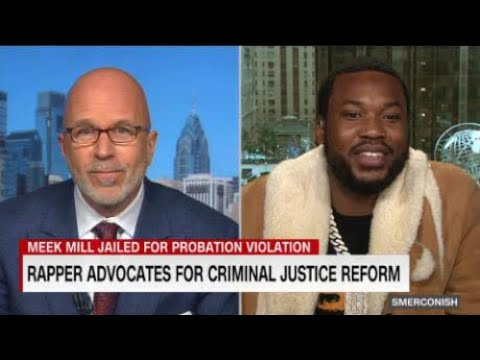 Meek Mill Speaks Out About Gun And Drug Convictions On CNN 🖤🔓🇺🇸