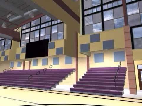 Blackstone Valley Regional Vocational Technical High School - Addition Flythrough