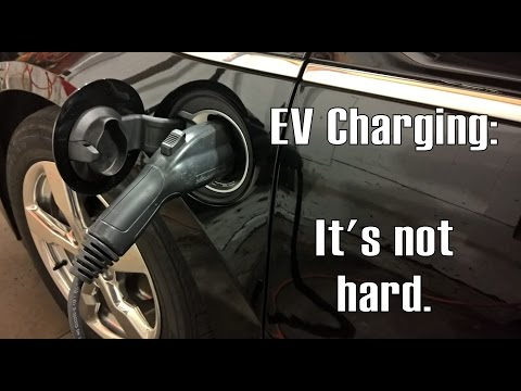 Electric Vehicle Charging:  It's easier than you think