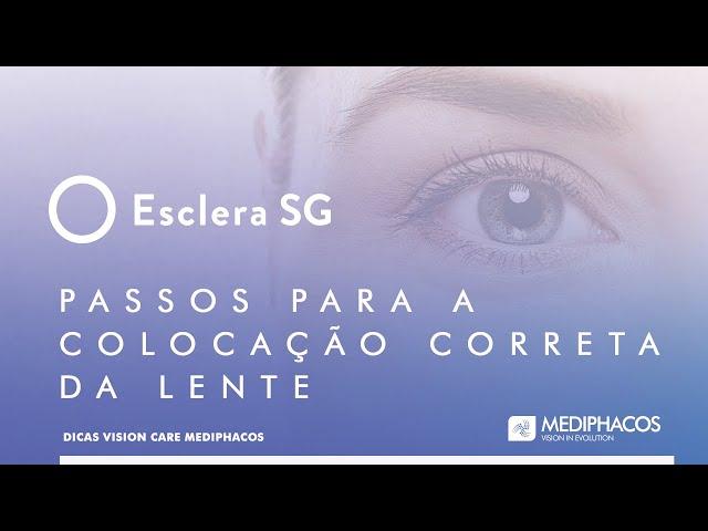 Dicas Vision Care - Passos para a colocação correta da lente