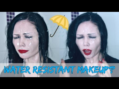 WATER-RESISTANT MAKEUP? || Putting Skindinavia to the Test!