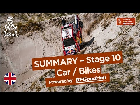 Summary - Car/Bike - Stage 10 (Salta / Belén) - Dakar 2018