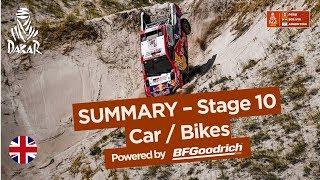 Summary - Car/Bike - Stage 10 (Salta / Belén) - Dakar 2018