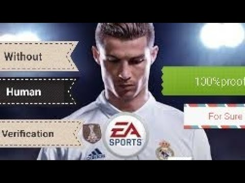 download fifa 18 without human verification code