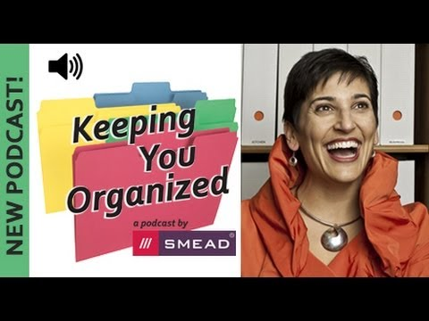 The 4 Step Plan For Organizing - Keeping You Organized Podcast Episode 034