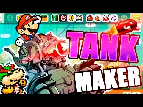 SUPER TANK MAKER   Super Mario Maker