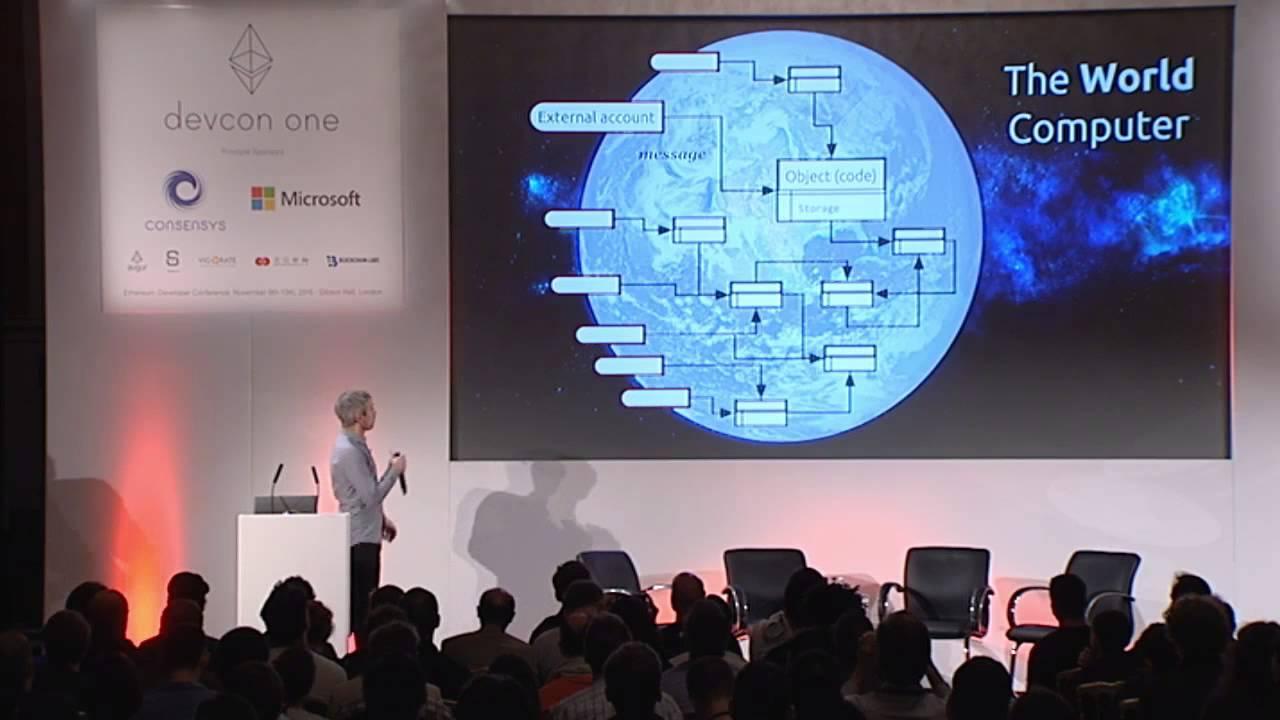 DEVCON1: Ethereum for Dummies - Dr. Gavin Wood