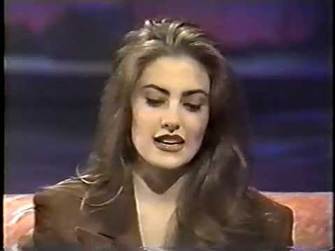 Mädchen Amick on Into the Night With Rick Dees