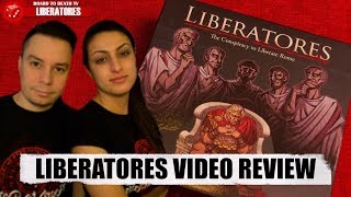 Liberatores Board Game Video Review