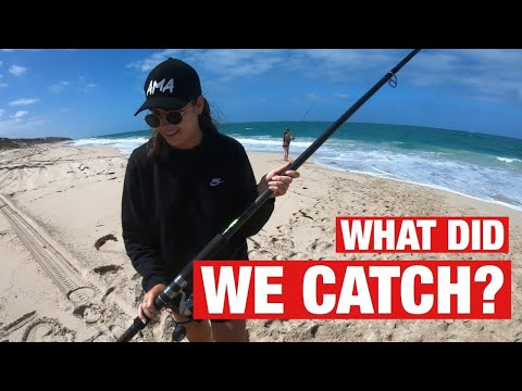 LAND BASED FISHING | BEACH CLEAN UP | MOORE RIVER - EP 15