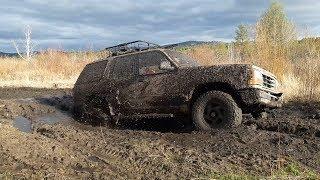 Ford Explorer и Toyota Carib на шинах Comforser CF3000 штурмуют грязь!