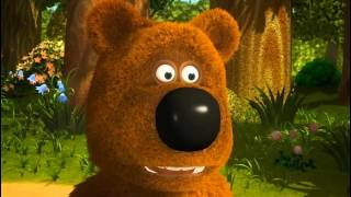 Learn Russian with Russian cartoons and Russian subtitles. Funny Bears. 6 of 7