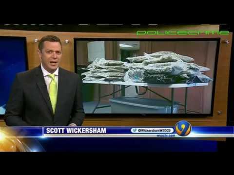 65 pounds of marijuana found in police dispatchers house. Catawba County, NC.