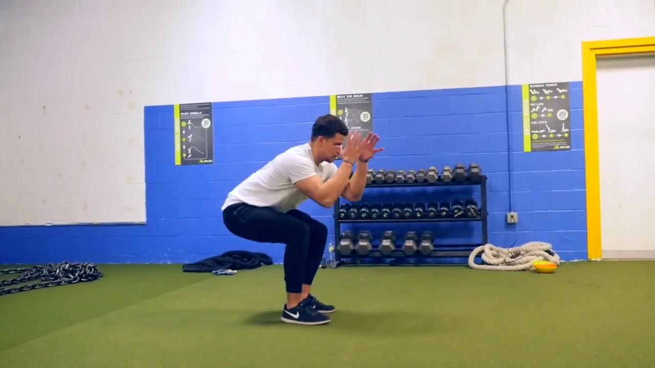 Тренировка колен у баскетболиста