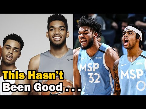 The Sad Story of Karl Towns & D'Angelo Russell's 1st Year As a NBA Duo