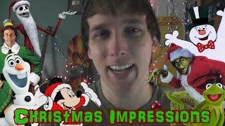 CHRISTMAS IMPRESSIONS!!! (AND PARODY)