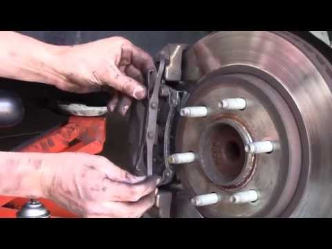 2003 Ford Expedition Front Brake Amp Rotor Replacement Doovi