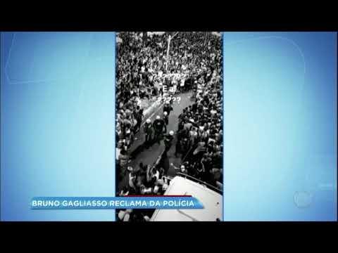Hora da Venenosa: Bruno Gagliasso reclama da polícia no Carnaval de Salvador