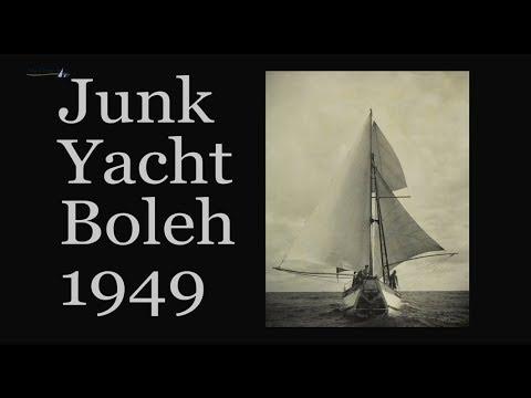 My Classic Boat. Junk Yacht Boleh 1949