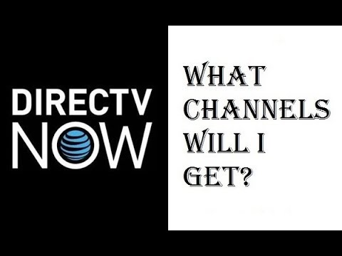 DirecTV Now - What Channels Will I Get? - Live a Little, Just Right, Go Big, Gotta Have It - Review