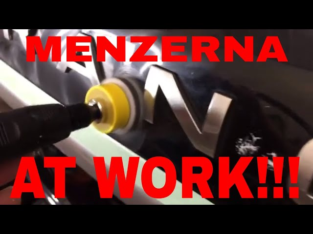 Removing Swirls and Scratches With Menzerna 400 Heavy Cut!!!! See the compound at work!!!