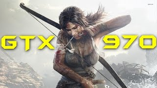 Tomb Raider 2013 GTX 970 | 1080p Max Settings 4xSSAA | FRAME-RATE TEST