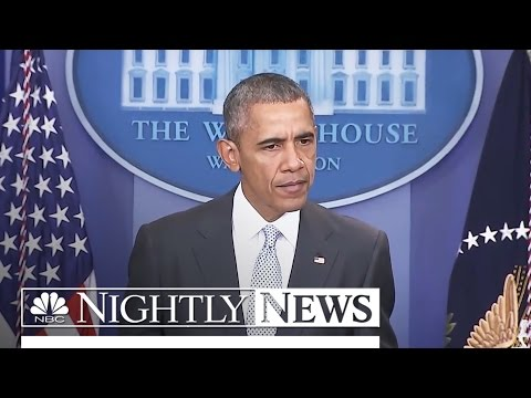 Paris Terror Attacks: Obama Calls Attacks 'Heartbreaking' and 'Outrageous' | NBC Nightly News