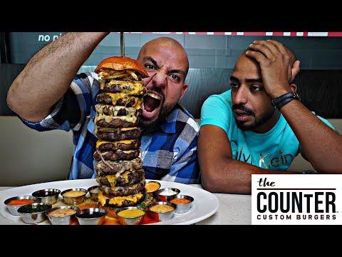تحدي برجر بوزن ٢ كيلو والجائزة ؟؟ 🍔 Burger Challenge 2 Kilos
