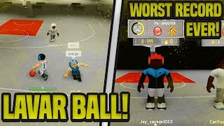 I BROKE LAVAR BALL IN ROBLOX! WORST RECORD EVER IN RB WORLD 2!