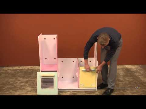 Assembly Video KidKraft Deluxe Pastel Play Kitchen