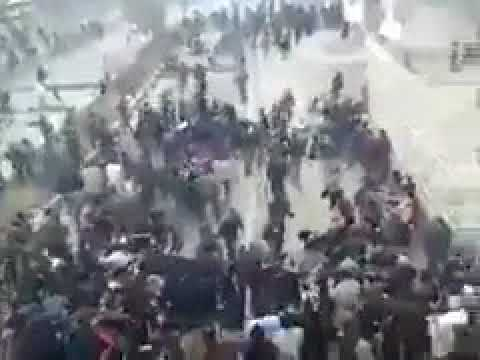 Iranian Revolutionary Guard suppresses peaceful demonstrations in Tehran 17/10/2017