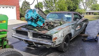 RATTY 1969 CHARGER GETS A BIG BLOCK!