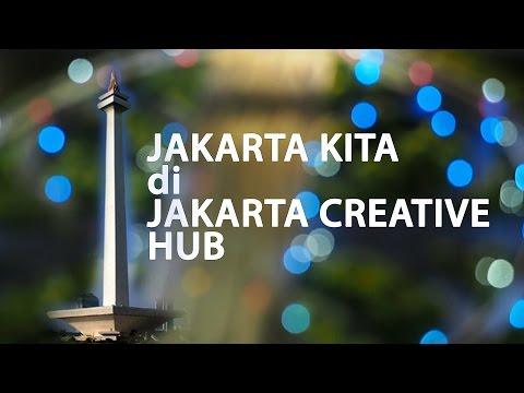 LIHAT KERENNYA JAKARTA KITA di JAKARTA CREATIVE HUB | KURVLOG