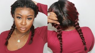 Baixar Affordable Ombre Bob Full Lace Wig Update and Flawless Install | Afsister Wig
