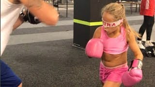 9-year-old Ukrainian Girl Looks Like PRIME Ronda Rousey