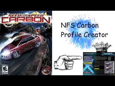 Nfs Carbon Profile Creator Youtube