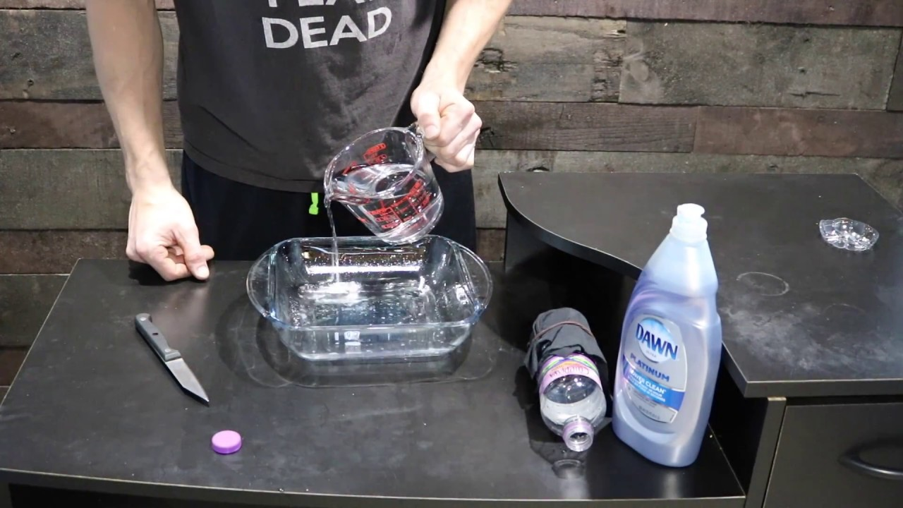 Science Fair Projects Simple Experiments With Soap Youtube