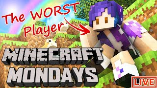 live minecraft monday w the loser from last week ft james charles dantdm yammy