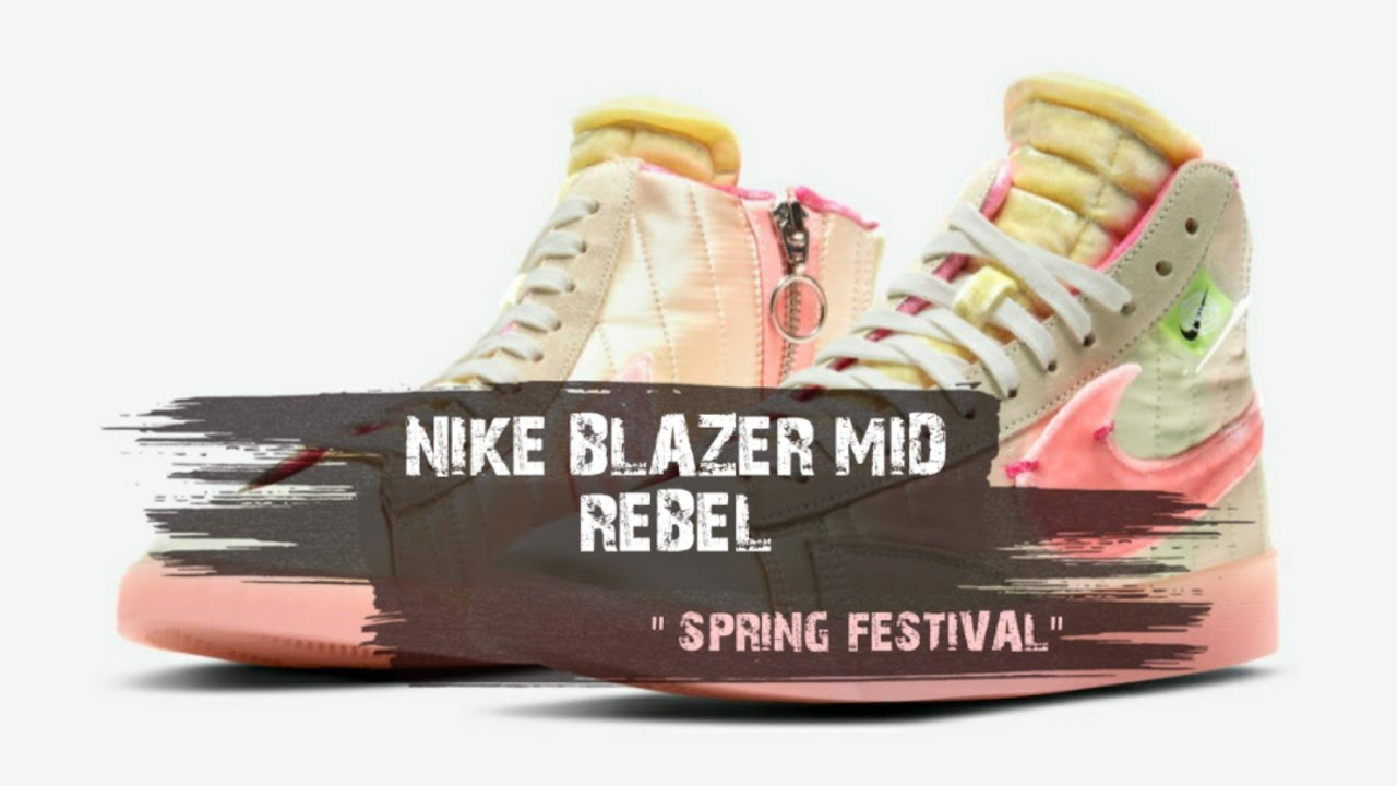Blazer Mid Rebel 'Spring Festival'