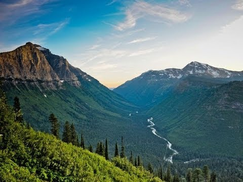 Magnificent Glacier National Park Full Vintage Documentary 8058