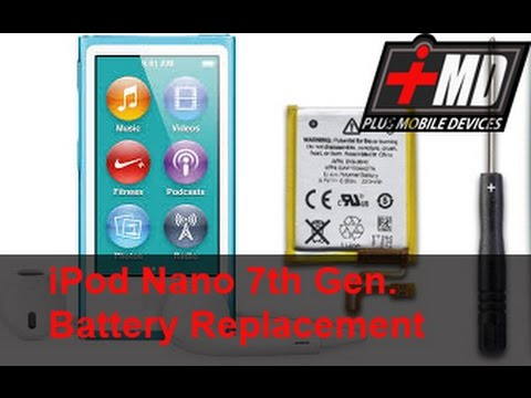 iPod Nano 7 Gen. Battery replacement