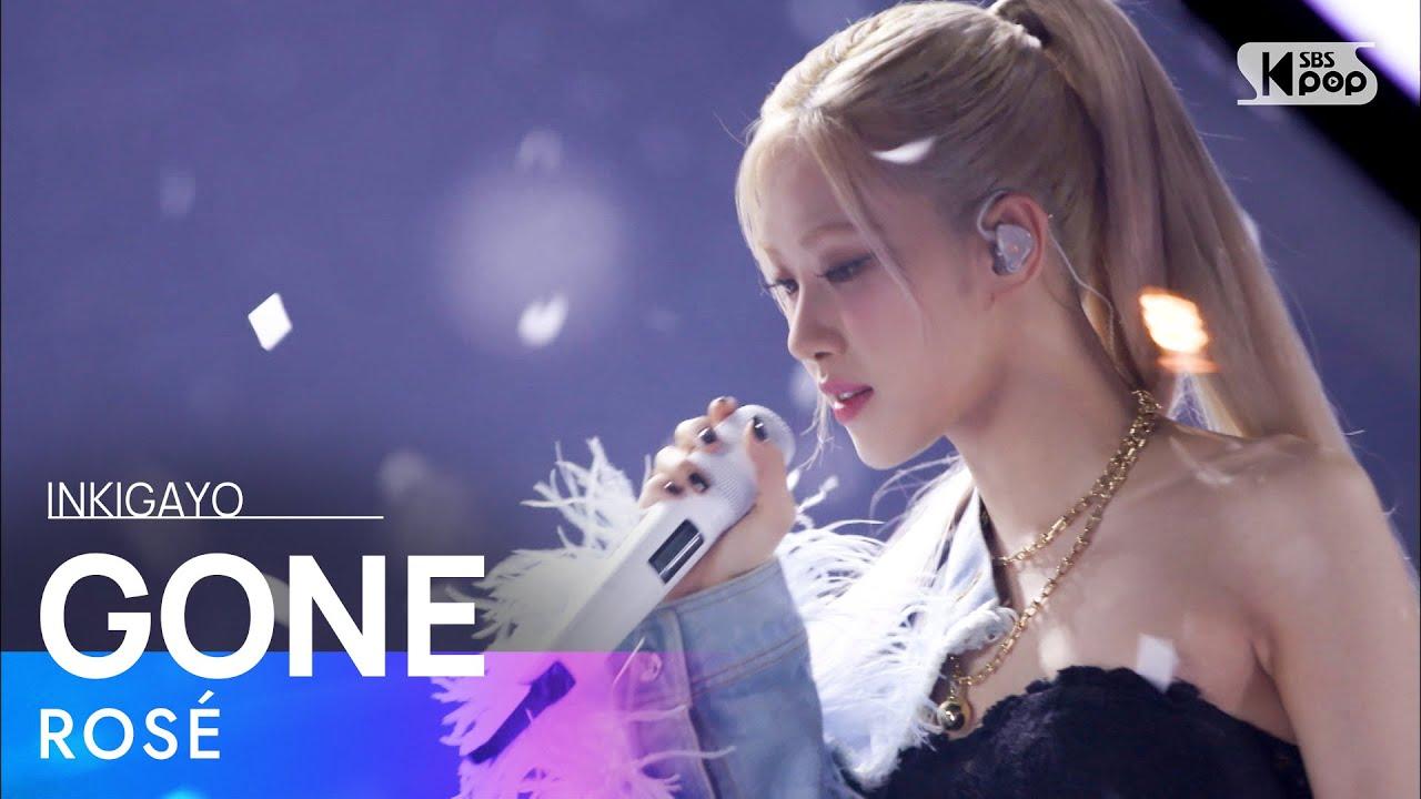Download ROSÉ(로제) - GONE @인기가요 inkigayo 20210314